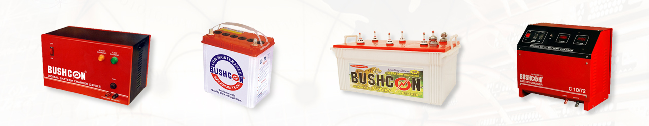 BUSHCON BATTERIES Banner