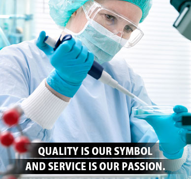 Quality is our Symbol and Service is our Passion