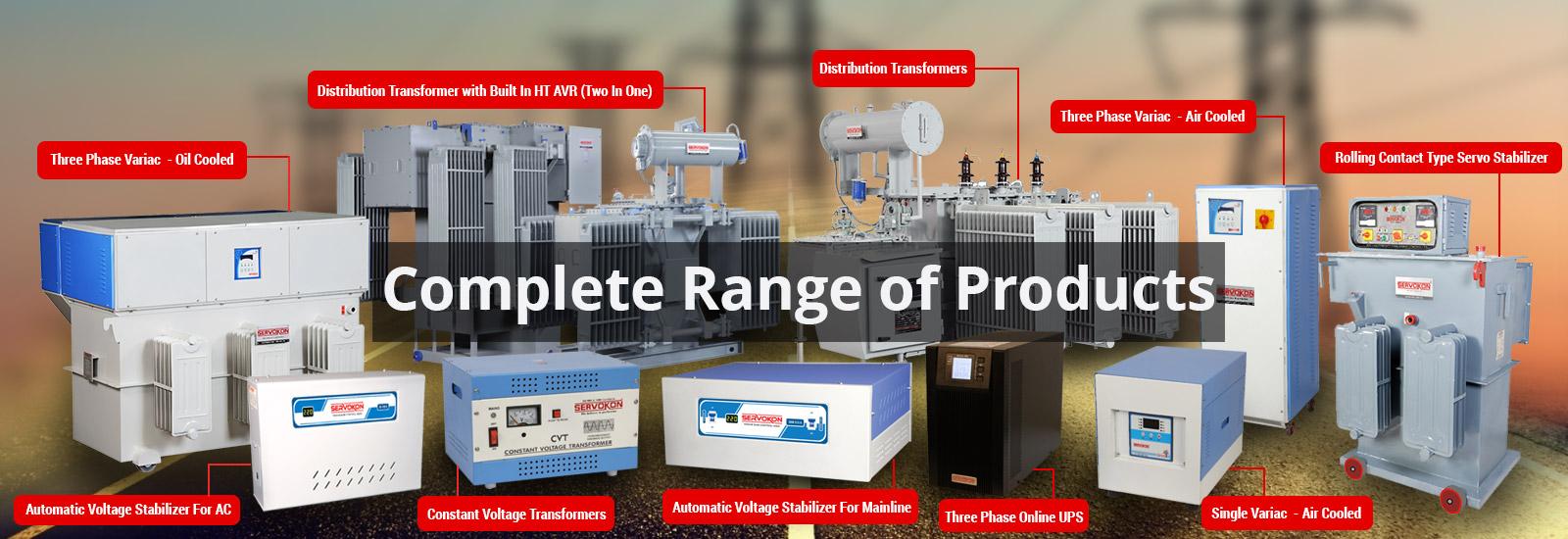 Servokon Systems Ltd. Banner