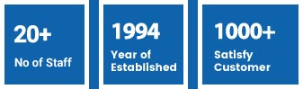 1994 Year of Established, 1000+ Satisfy Customer