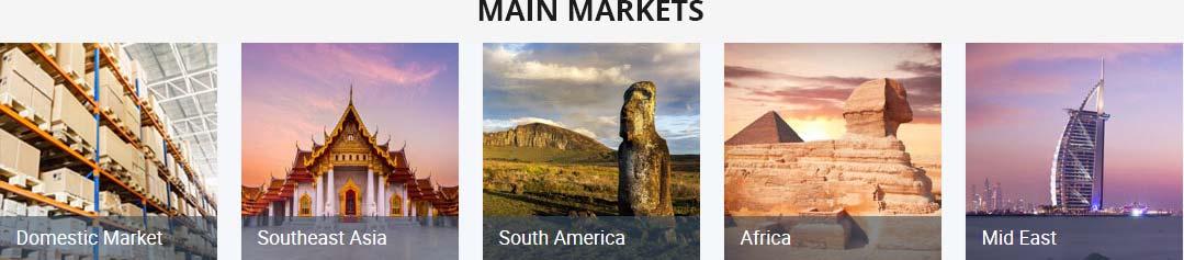 Main Markets