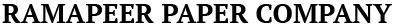 Ramapeer Paper Company