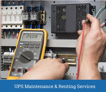 UPS Maintenance System