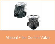 Manual Filter Control Valve