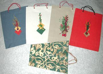 Hand Made Paper Carry Bags