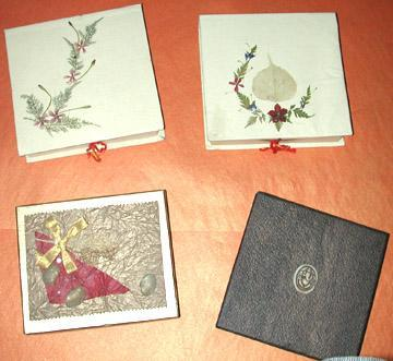 Hand Made Paper Boxes