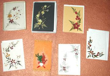Hand Made Paper Greeting Cards