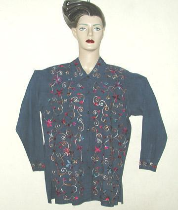 Aari Embroidery Ladies Shirt