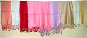 Viscose Plain dyed Shawls