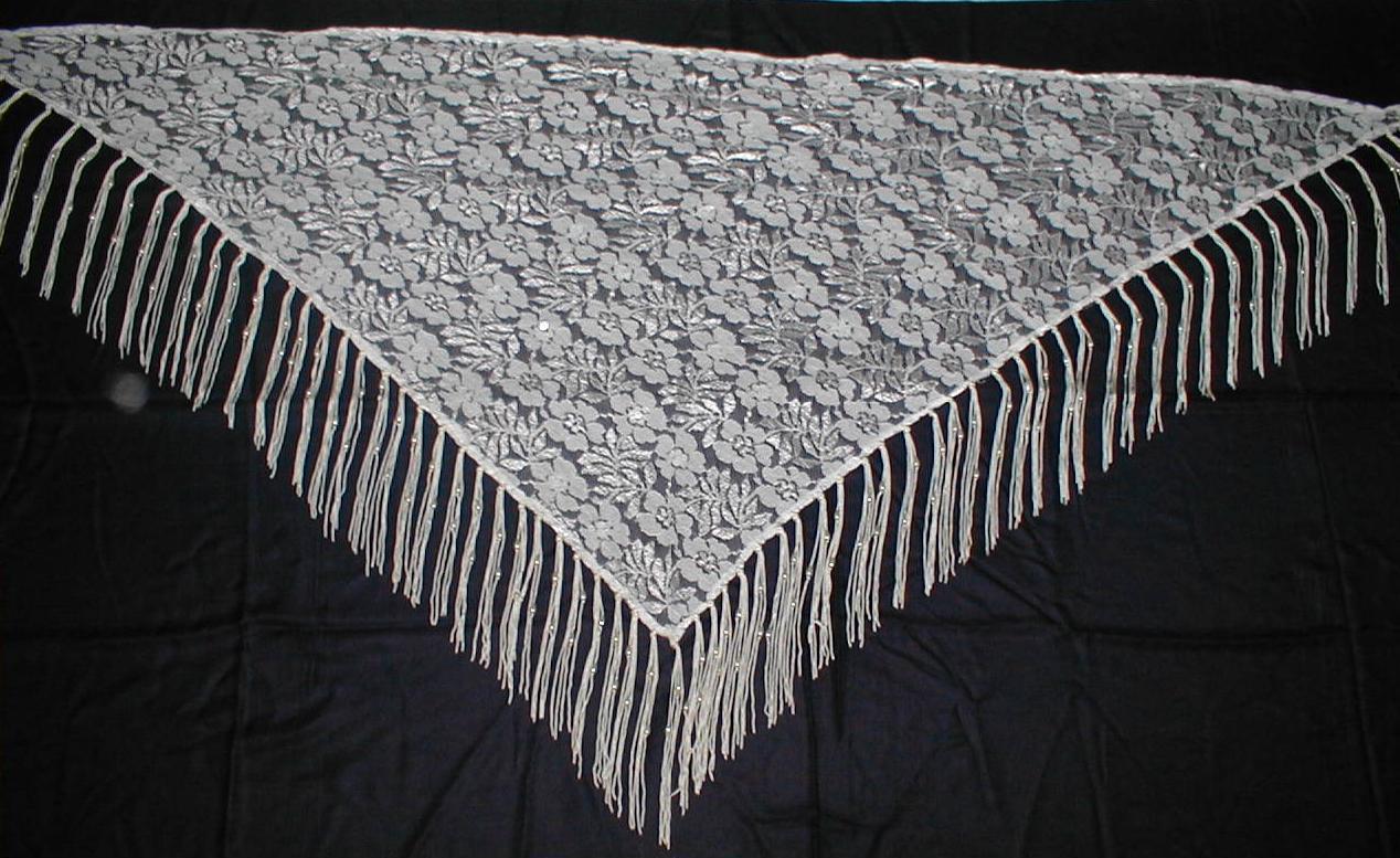 Triangular Scarves.