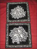 Velvet Zari Cushion Covers.