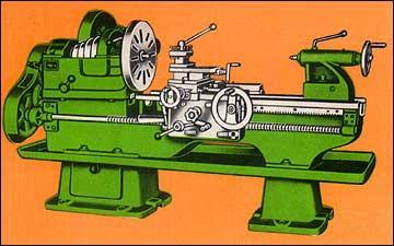Lathe Machines - Heavy Duty Lathe Model: PHD