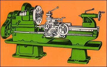 Lathe Machines - Heavy Duty Lathe Model: PHD