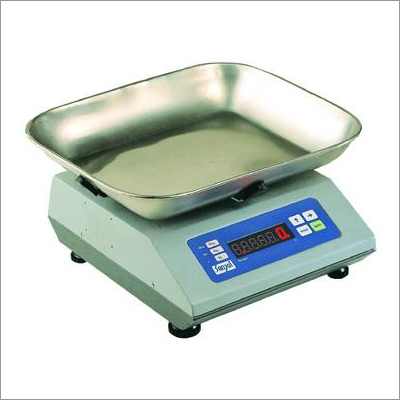 Table Top Scales with Flat Bowl