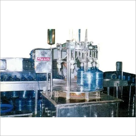 Semi Automatic Rotary Jar Filling Machine
