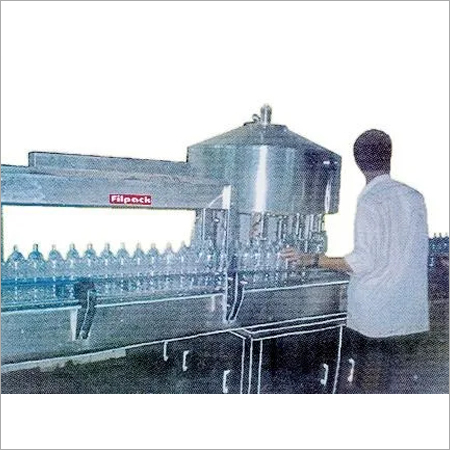 Semi Automatic Rotary Gravity Filling Machine