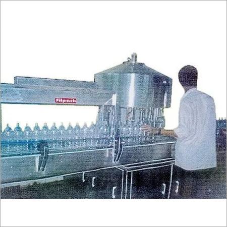 Semi Automatic Rotary Gravity Filling Machine