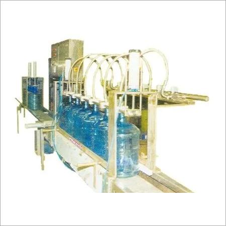 Automatic Linear Jar Filling Machine