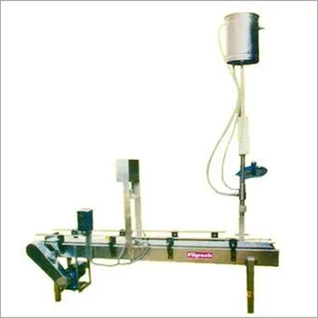 Single Head Jar Filling Machine