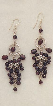 Semi-Precious stone earring