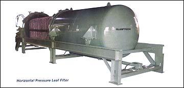Horizontal Pressure Leaf Filter