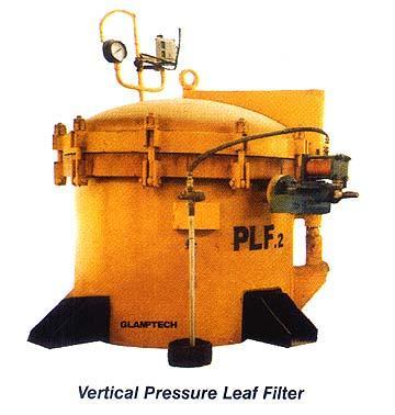 Vertical Pressure Leaf Filter