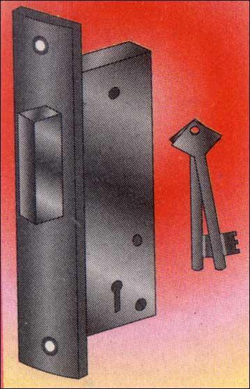 Aluminium Door Locks Mini