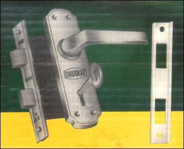 Mortice Lock Set (Double Door 45