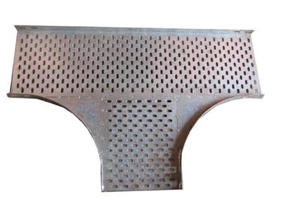 Galvanized Perforated Cable Tray Tee