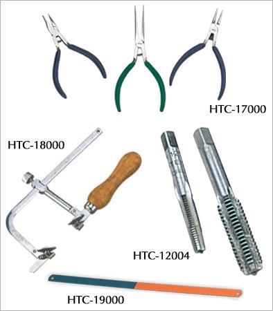 Pliers, Hacksaw Frames, Saw Blades, Taps