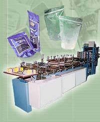 Flexible Pouch & Carry Bag Making Machine With Servo Driven