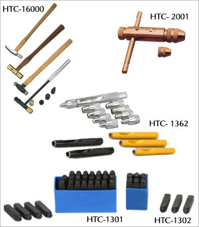 T-TAP WRENCH, MARKNG. & HOLLOW PUNCHES, HAMMERS