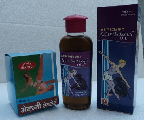 Relax Massage Oil