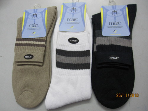 TERRY COTTON ANKLET SOCKS