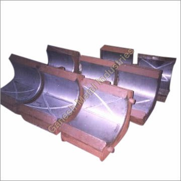 White Metal Bearing with Steel Housing Casting