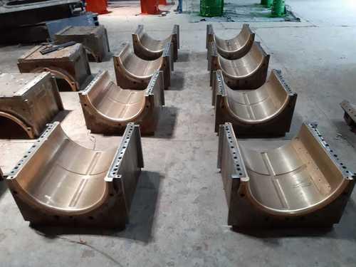Bronze Top Roller Top Half Bearing Casting
