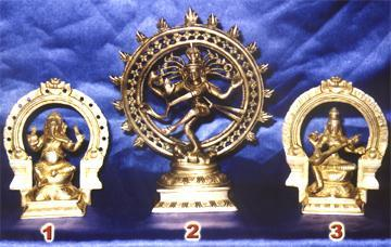Brass Handicrafted Idols