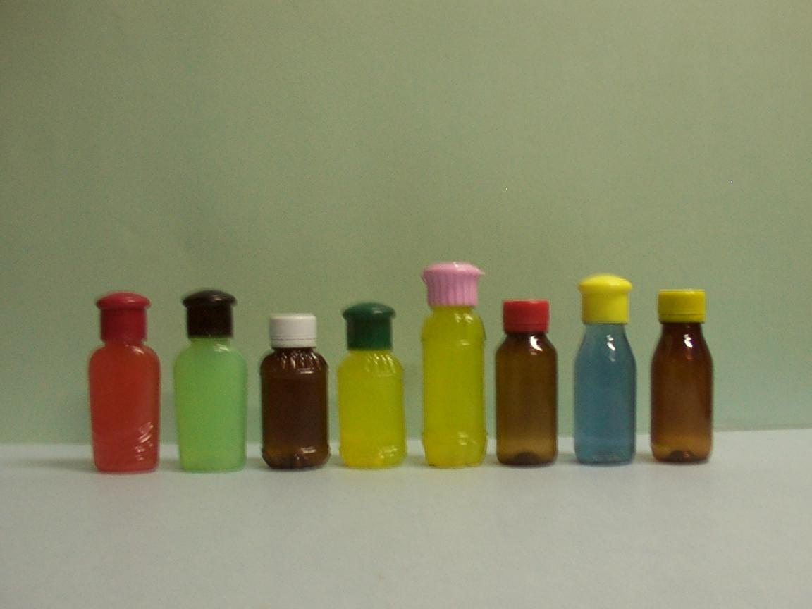 50 - 60 ML PET BOTTLES