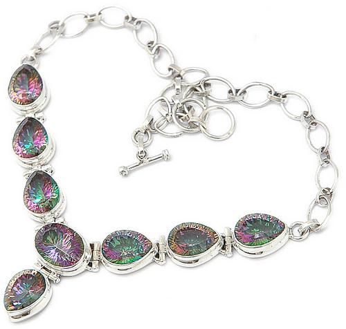 Mystic Topaz Necklace