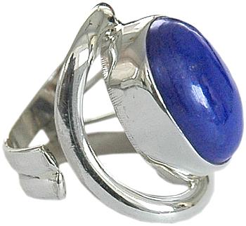 Blue Lapis Stone Ring