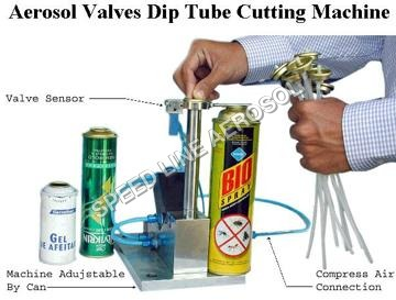 Diptube Cutting Machine
