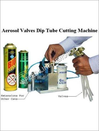 Aerosol Tube Cutting Machine