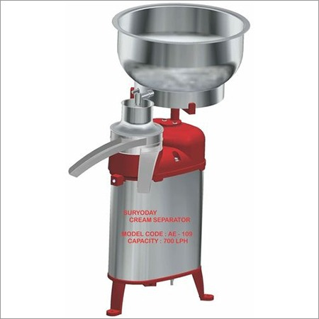Milk Cream Separator 700 LPH