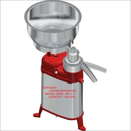 Cream Separator 300 LPH