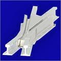 Cast Steel MagnesiumCrossing