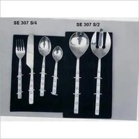 Stainless Steel Cutlery & Salad Server