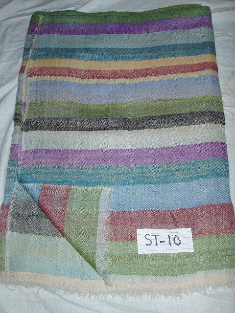 Striped Pashmina Shawls