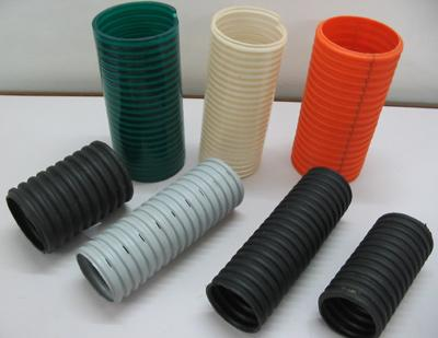 HDPE Single Wall Corrugated Pipes (SWC)