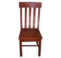 Wooden 3 Strip Chair