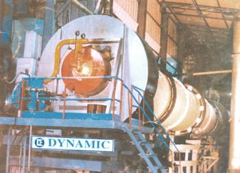 Counter Current Rotary Kiln